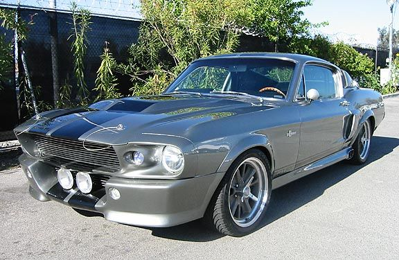 dream carshelby gt500 mustang with double racing stripe if gas - 1967 Ford Mustang Eleanor