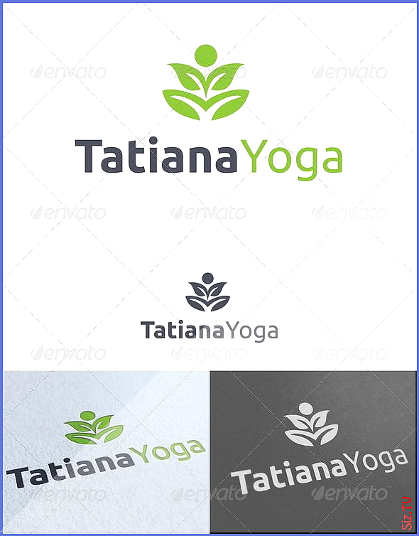 Tatiana Yoga Logo Template GraphicRiver   Yoga and Fitness Logo Template Re sizable  Vector EPS and...