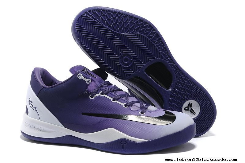 Buy New Club Purple White Black Kobe 8 System MC Mambacurial FB 615315  Basketball Shoes Store