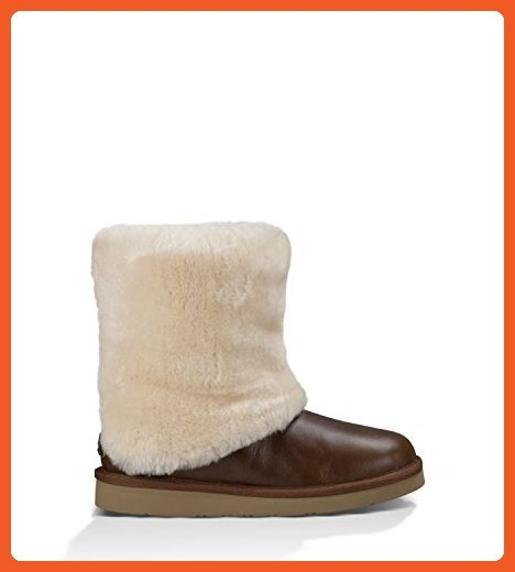 UGG Australia Womens Patten Boot Chestnut Leather Size 5 - Boots for women  (*Amazon