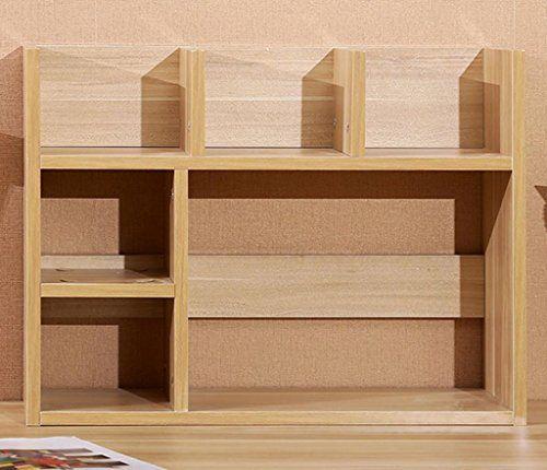 Desktop Bookshelves: FigtingEagle Small Bookshelves Computer Desk Shelves
