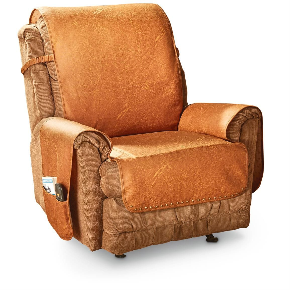 Faux Leather Recliner Cover Arm chair covers