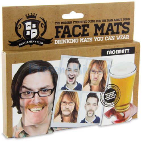 Face Mats Beer Mats Coasters With Faces Party Pub Drinking Game Fun Idea Face Coasters Drinking Games Club Face
