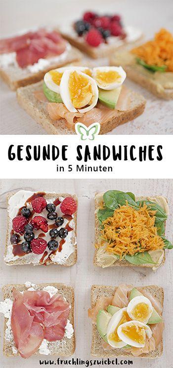 Schnelle Sandwich Toaster Rezepte - 4 gesunde Sandwich Maker Rezepte #gourmetmeals