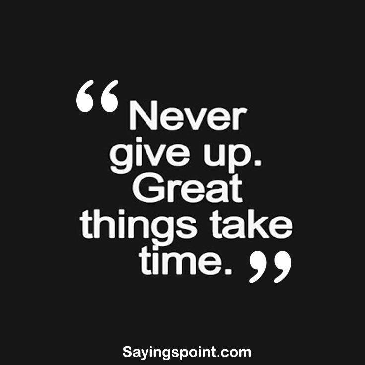 Giving Up Quotes Endearing Never Give Up Motivational Sayings #sayings #quotes #nevergiveup