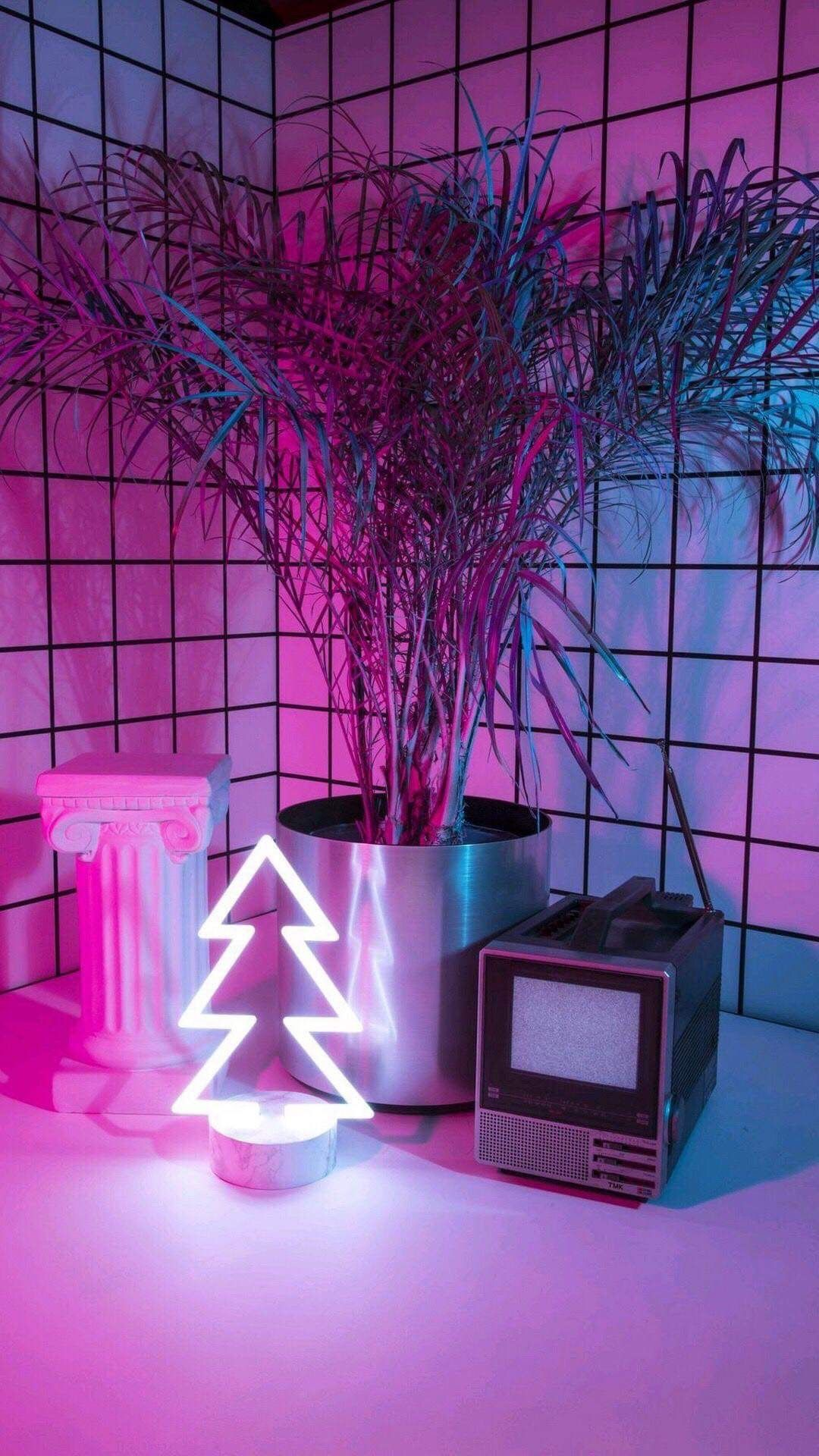 Pin oleh HaHa🥀 di Forever |  Pencahayaan Neon, Estetika Neon ...