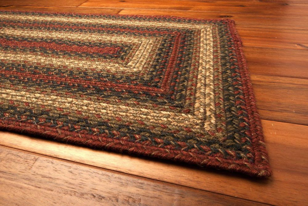 A Shopping Trip For Country Rugs And Door Mats In 2020 Braided Area Rugs Country Rugs Country Interior Design