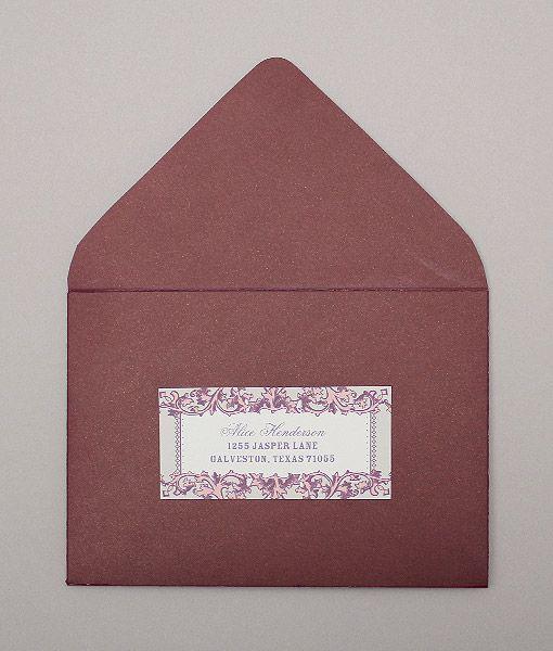 Vintage Filigree Address Labels   Address labels, Diy paper and ...