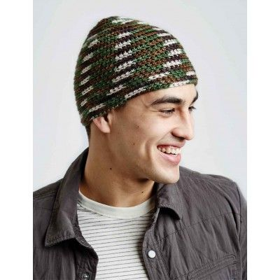 Free Easy Men\'s Hat Crochet Pattern | Crochet Head/Neck | Pinterest ...