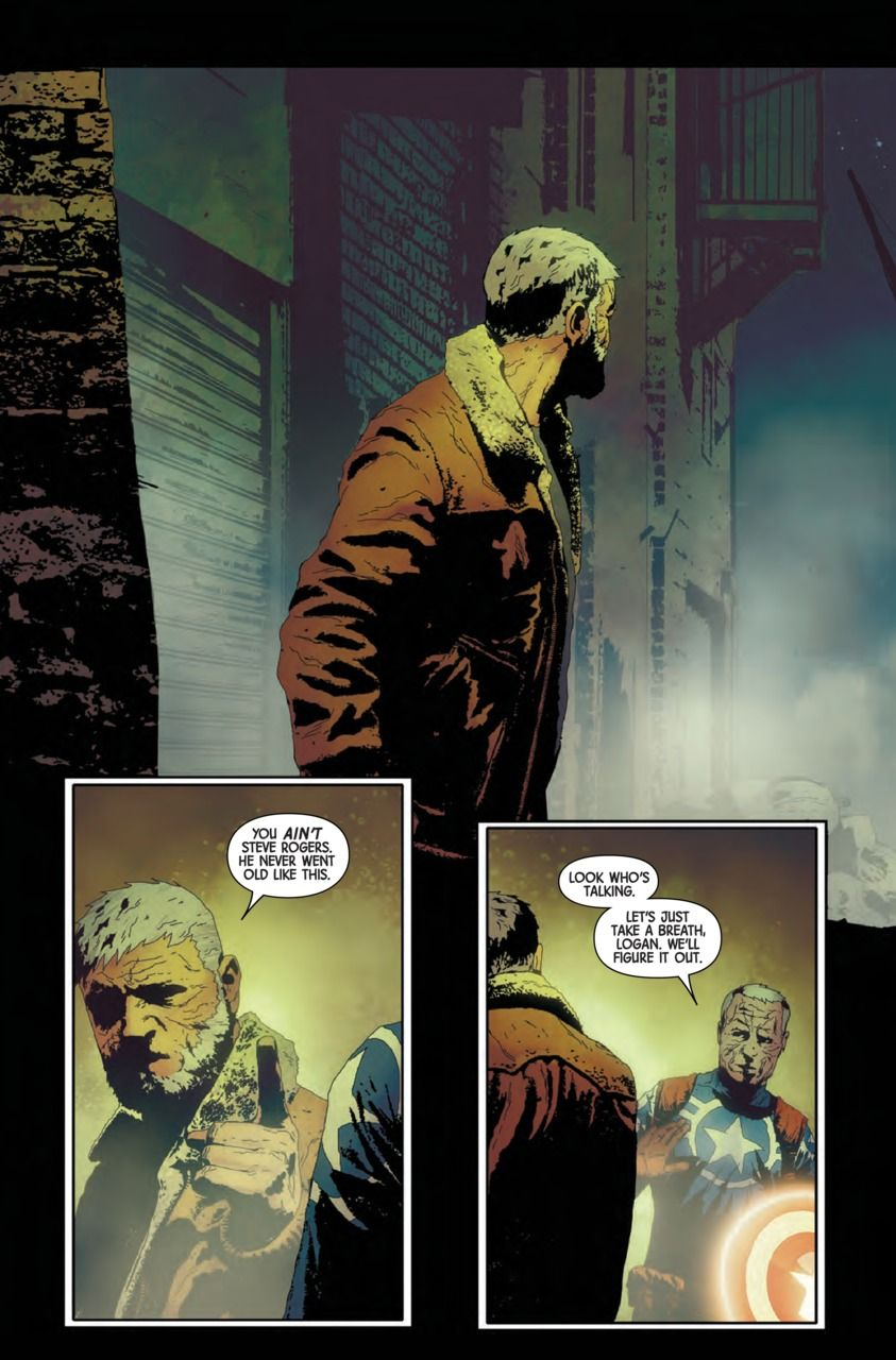 Old man fucking twinkle Preview: OLD MAN LOGAN #4 - Comic Vine
