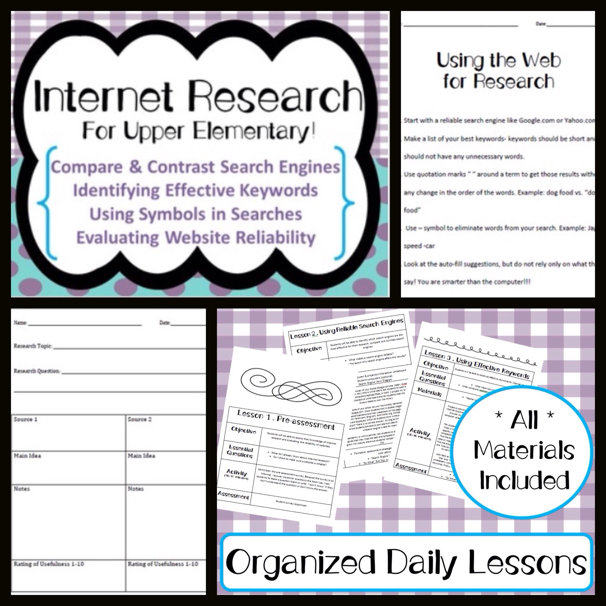 senior research paper leson plan Writing a research paper lesson plans and worksheets from thousands of teacher-reviewed resources to help you inspire students learning.