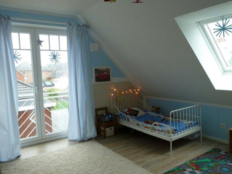 Kinderzimmer Hellblaue Vorhänge Von Topotec U2013 Zimmerschau.de
