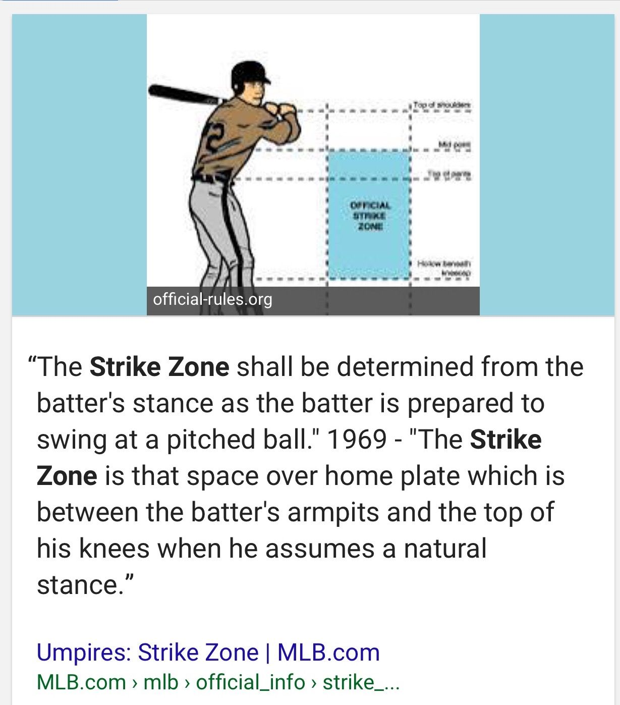 Pin By Teena Hartman On Baseball Official Rules The Zone Ball