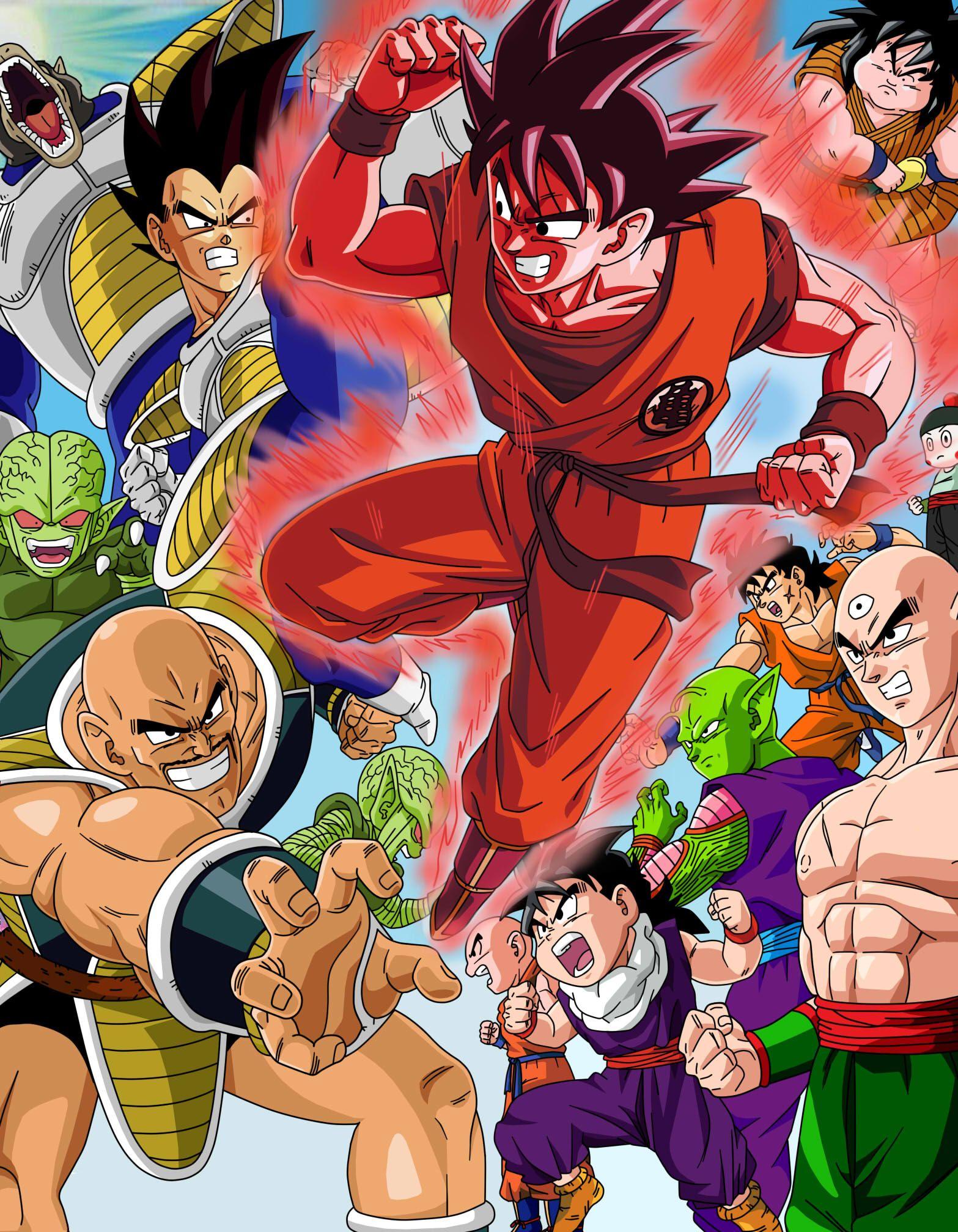 Saiyajin saga by Raykugen on DeviantArt Different Anime