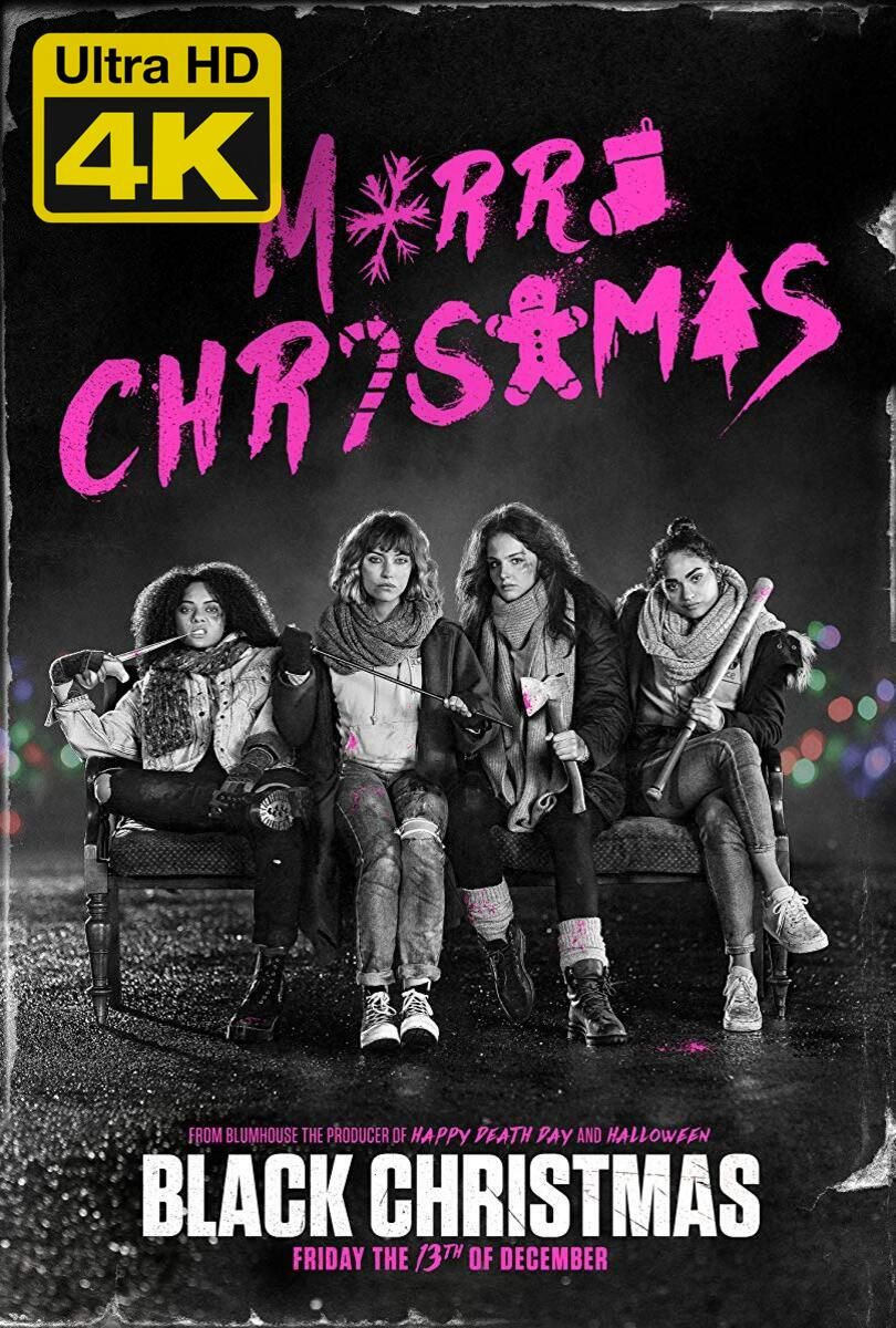 4K Ultra HD Black Christmas (2019) Watch & Download Black