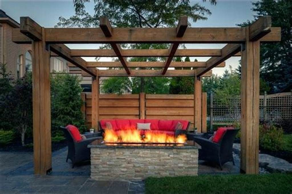 Small Backyard Fire Pit With Gazebo Google Search Outdoor Fire Pit Designs Gazebo With Fire Pit Backyard Fire