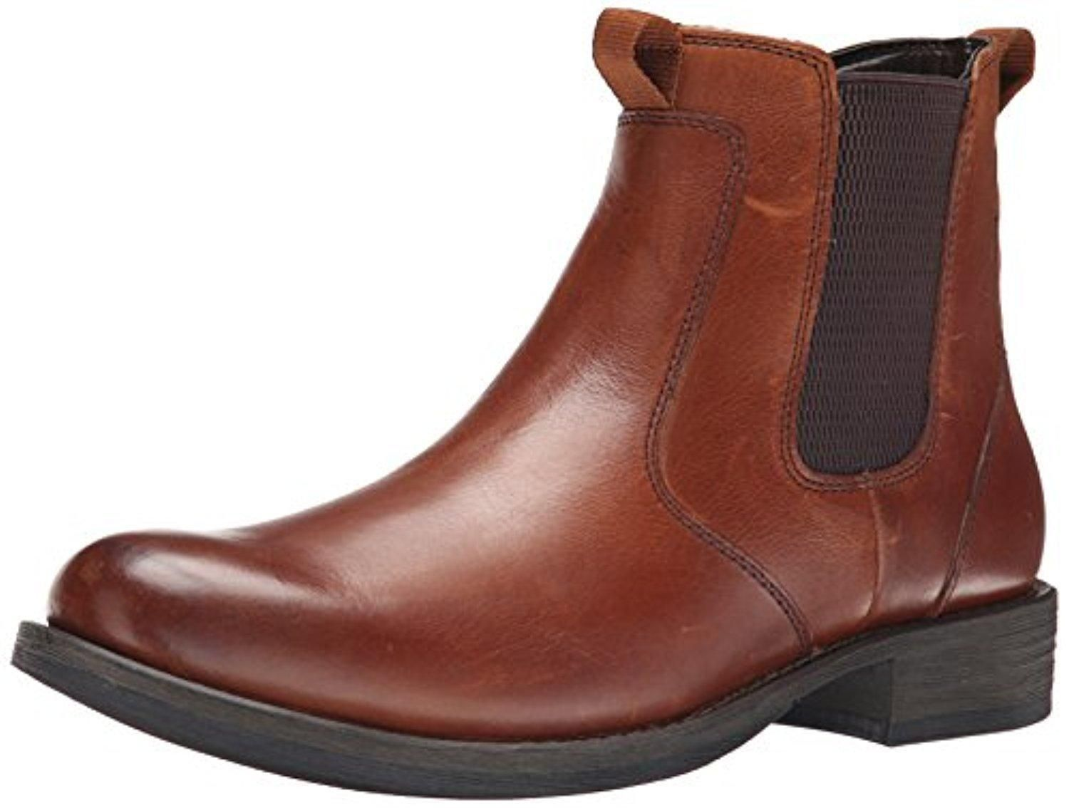 Eastland Men's Daily Double Chelsea Boot, Tan, 9.5 D US - Brought to you