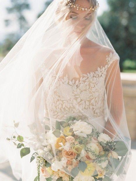Reem acra juliet gown romantic butter citrus wedding wedding dress junglespirit Images
