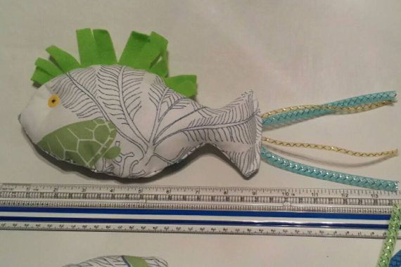 14 Cat Nip Fish Toy by WebBoutiqueCrafts on Etsy