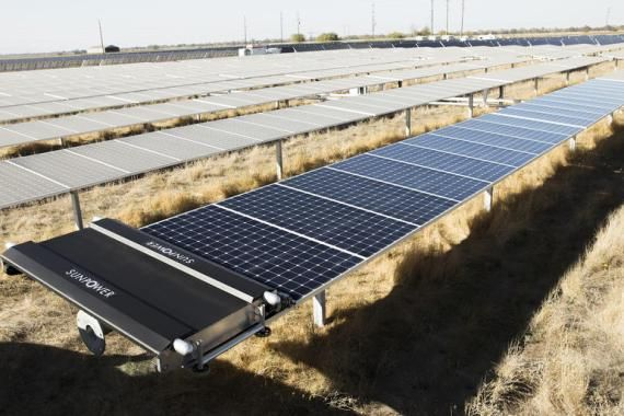 Drones And Robots Are Being Used More Regularly To Help Build And Maintain Solar Installations Solar Panels Solar Energy Diy Solar