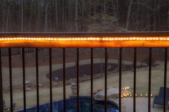 The Secret Life Of Rope Light Diy Outdoor Lighting Rustic