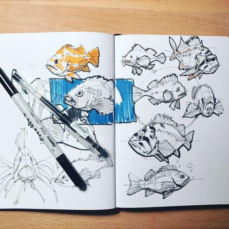 Photo of Sketch by Alex Hagel