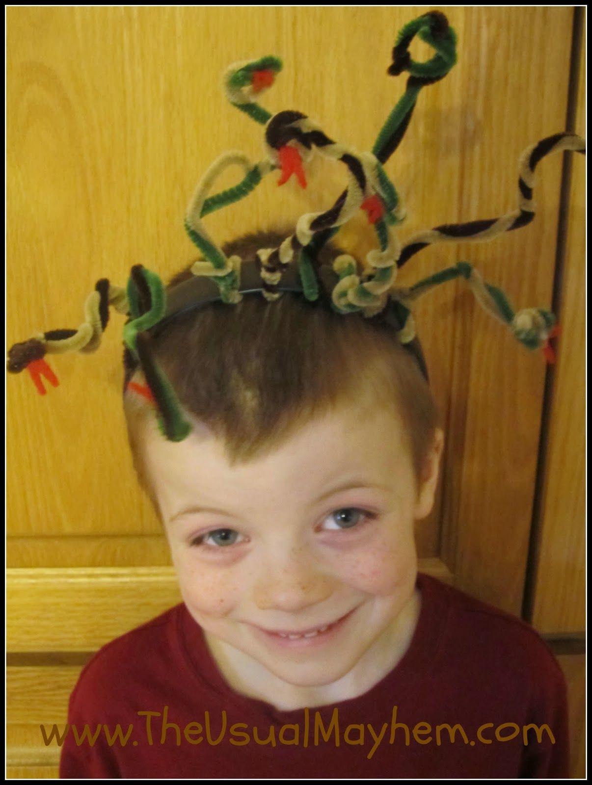Medusa Snake Headband