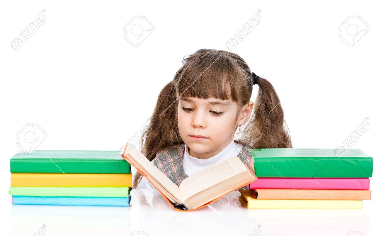 Stock Photo Mother S Day Art Girl Reading Book Girl