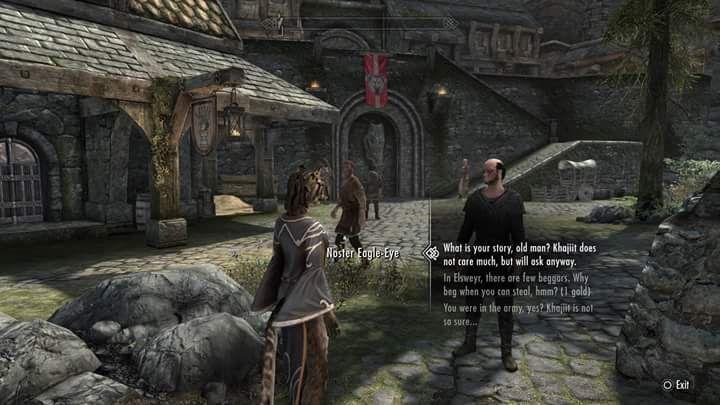 I love the Khajiit dialogue replacer mod  #games #Skyrim
