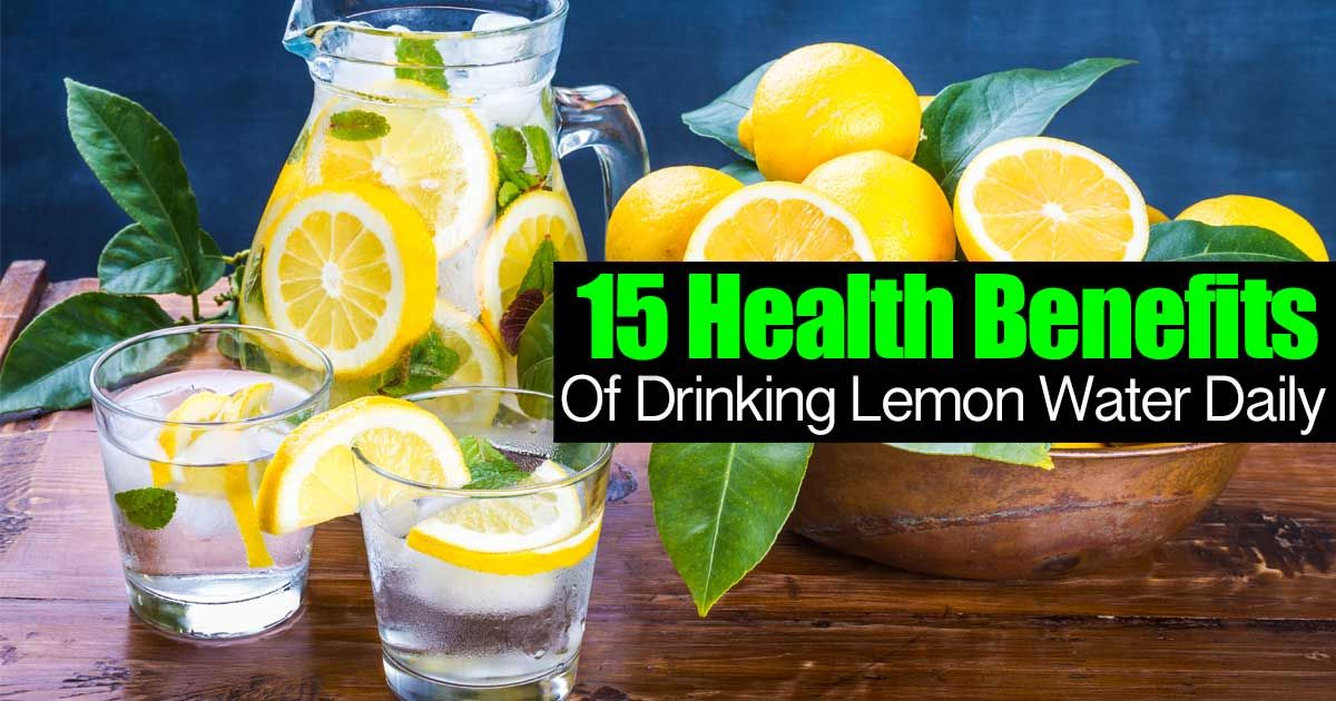 15 Health Benefits Why You Should Be Drinking Lemon
