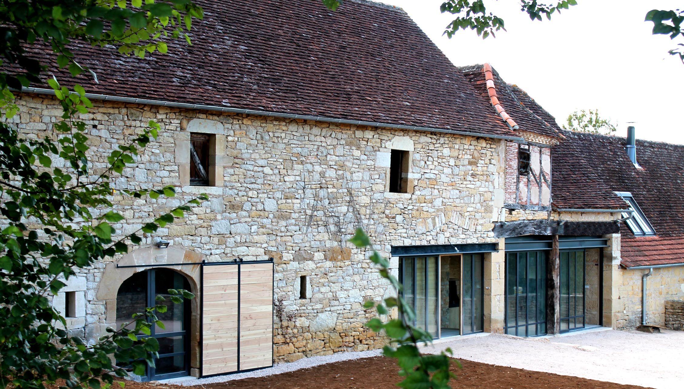 Annuaire architectes Avivre - projet : RÉHABILITATION D'UNE GRANGE EN MAISON - architecture ...