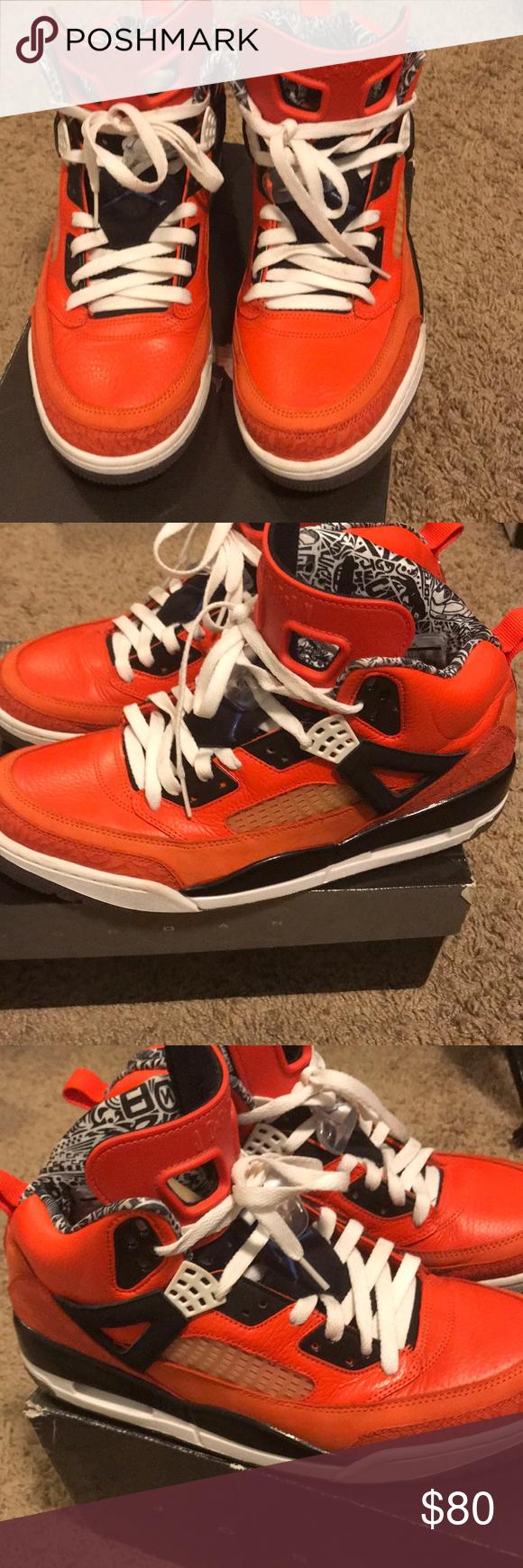 more photos f6368 0dfd2 Jordan Spizike Knick s orange Knicks color Jordan Shoes Sneakers