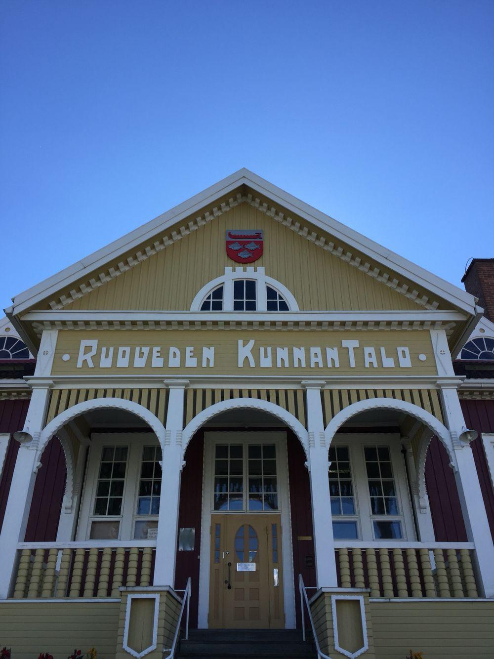 Oma ääneni Suomen sympaattisimmalle kunnantalolle menee muitta mutkitta #Ruovesi'lle. 8/2016