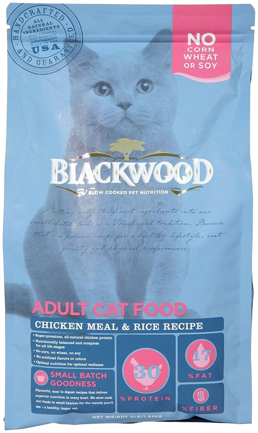 Blackwood Adult Cat Food Chicken Meal And Brown Rice 4 Lb To