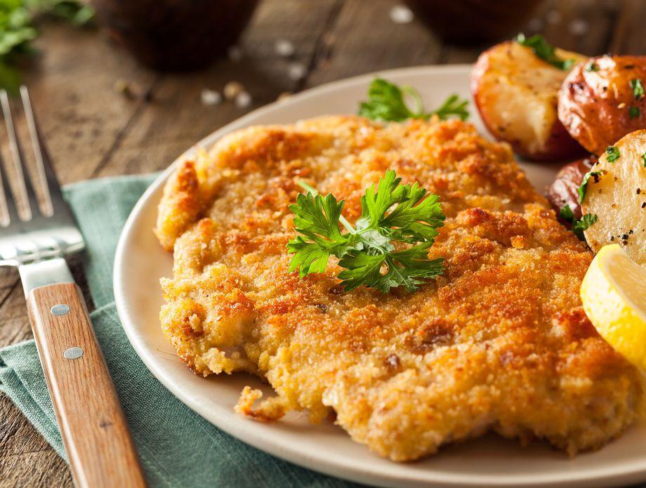 Recept Za Zagrebacki Odrezak Iz Pecnice Chicken Schnitzel