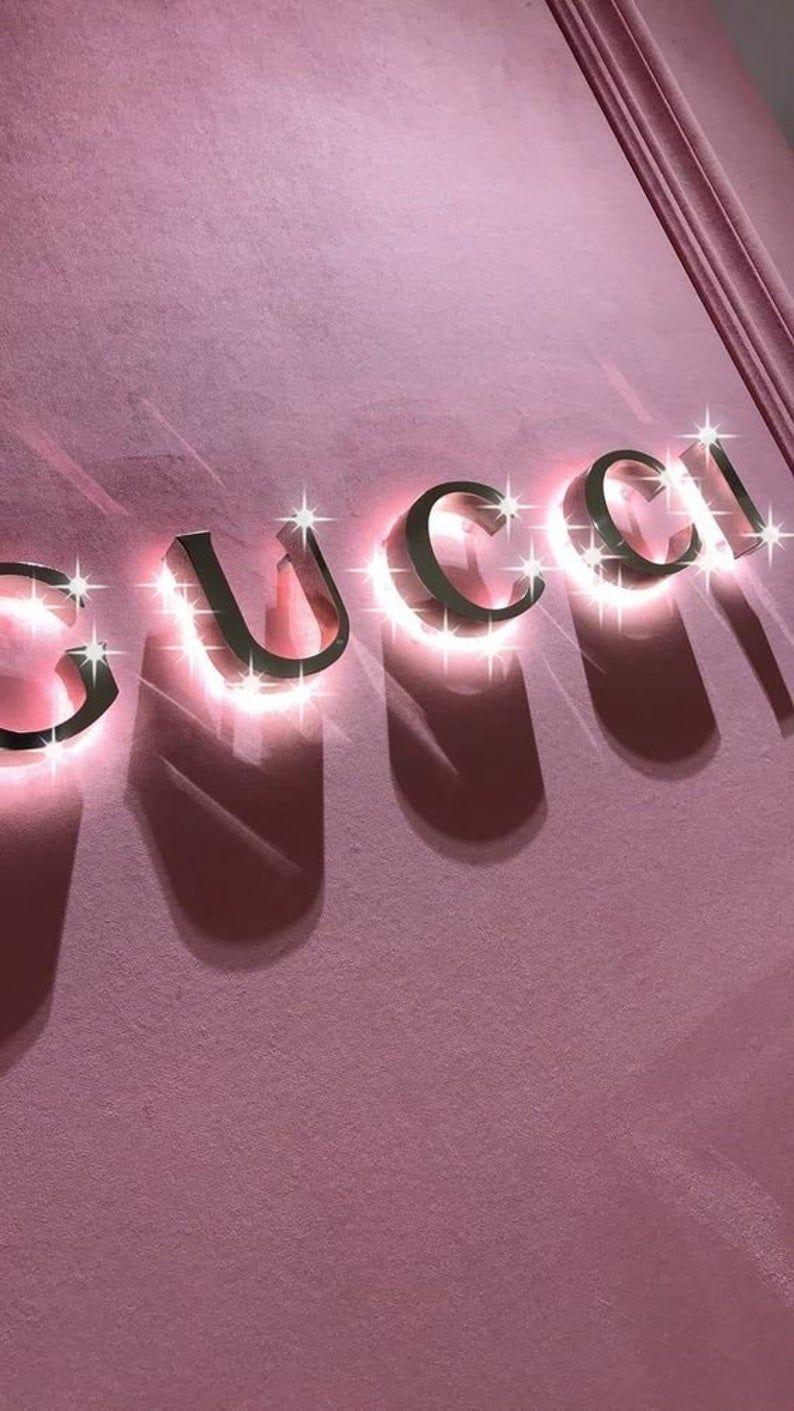 40 PINK BOUJEE BADDIE Collage Aesthetic. Trendy Vogue | Etsy