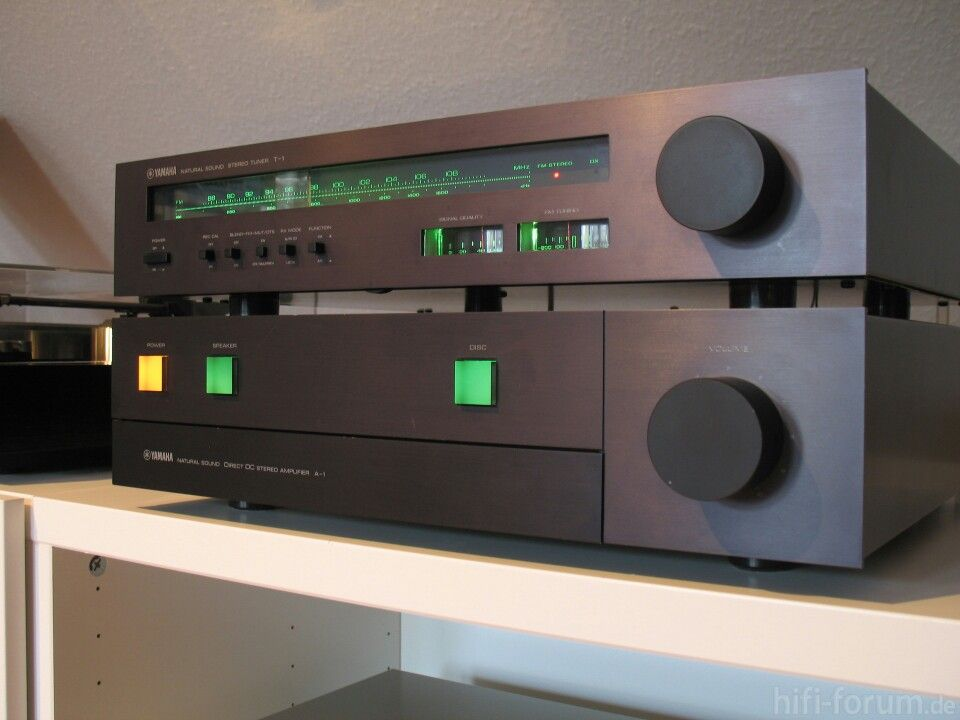 Yamaha A1 T1 Audio Design Yamaha Audio Stereo Amplifier