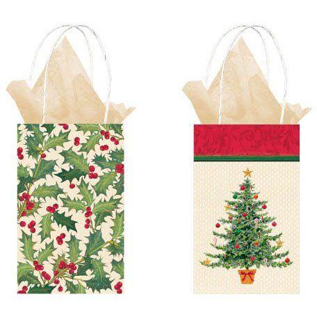 Red Sannysis Christmas Supplies Gift Bag Christmas Tree Wool Knit Socks Christmas Bag