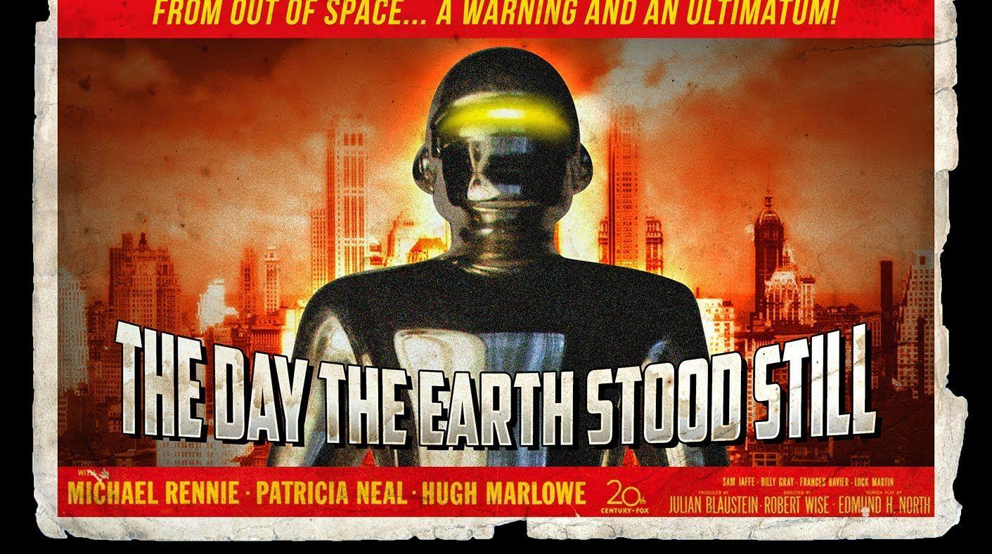 Photoshop How To Make A 1950s Retro Sci Fi Movie Poster Movie Posters Sci Fi Sci Fi Movies