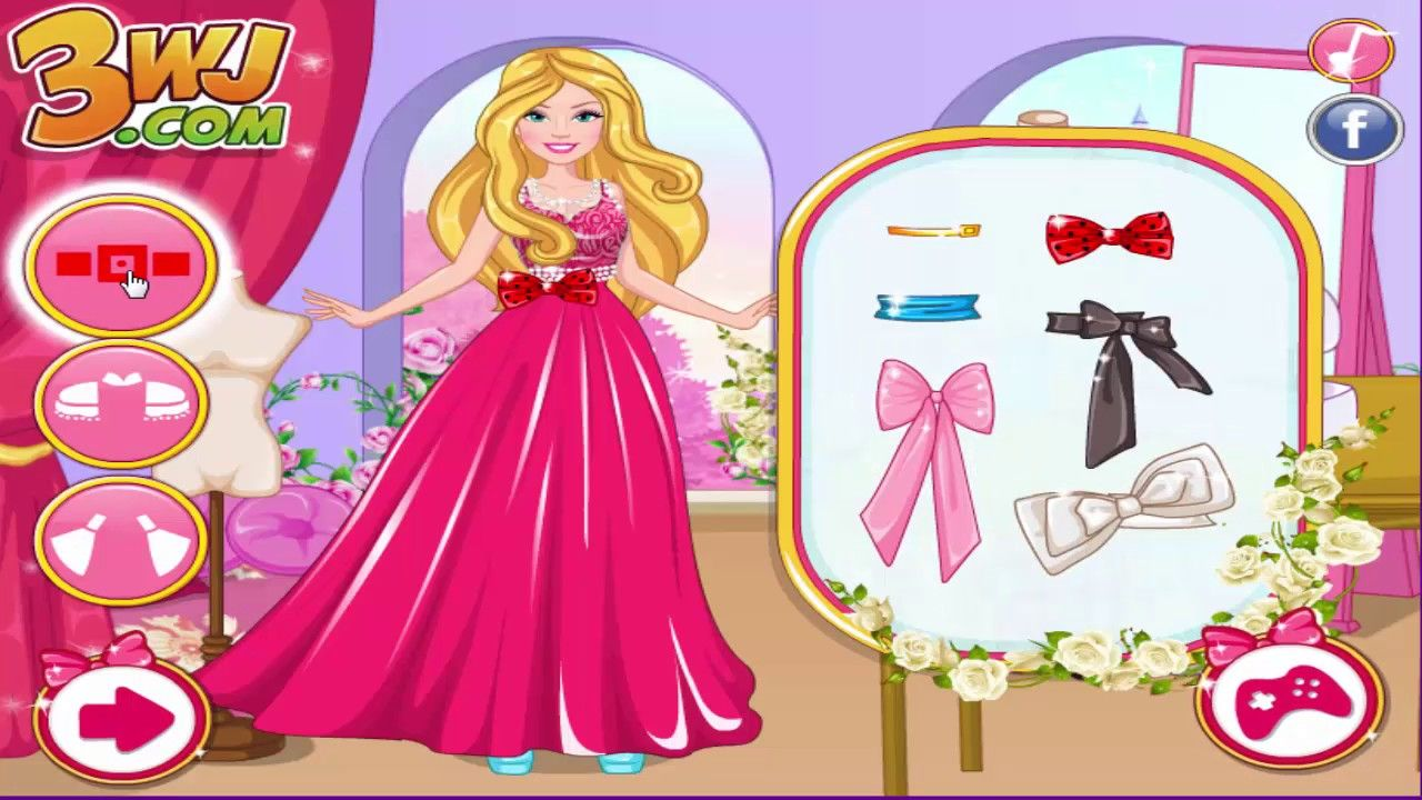 Barbie Game Barbie Fashion Designer Contest ब र ब ख ल ब र ब फ शन ड ज Free Games For Kids Baby Movie Frozen Games For Kids