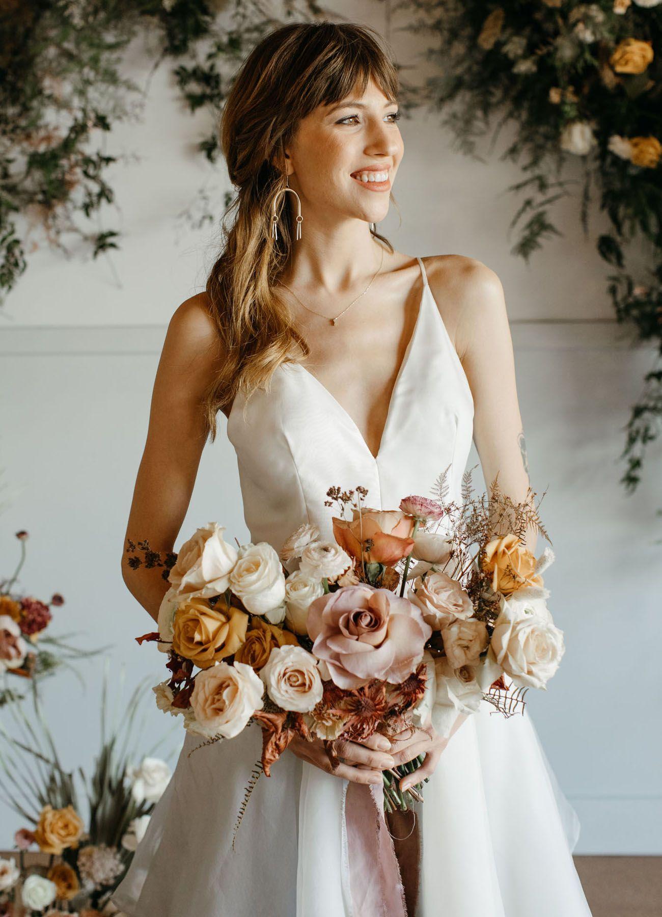 Romantic Wedding Inspiration At West Portland S New Modern