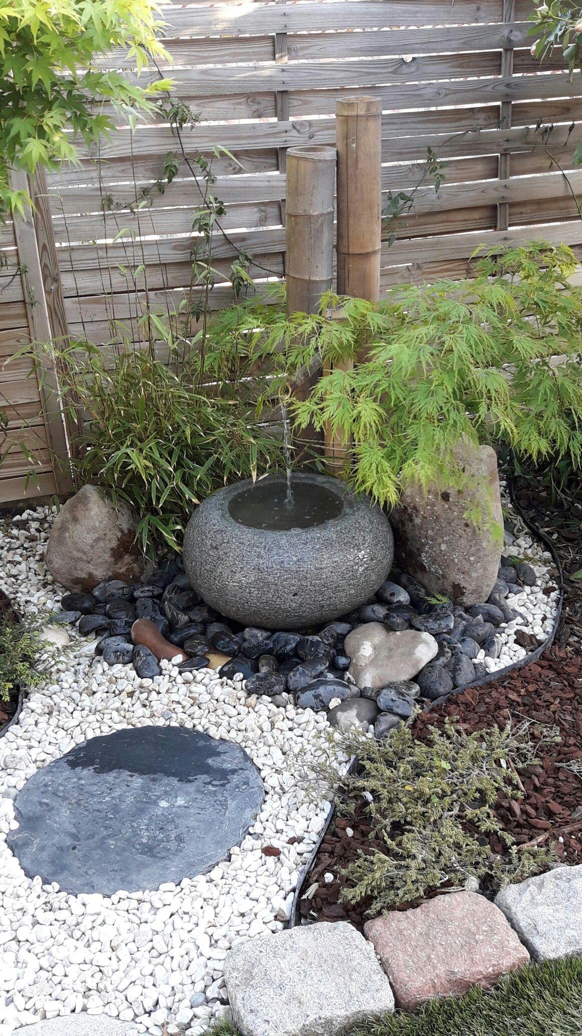 Jardin Mineral Zen Photo mon petit coin zen . | petit jardin japonais, jardin d'eau