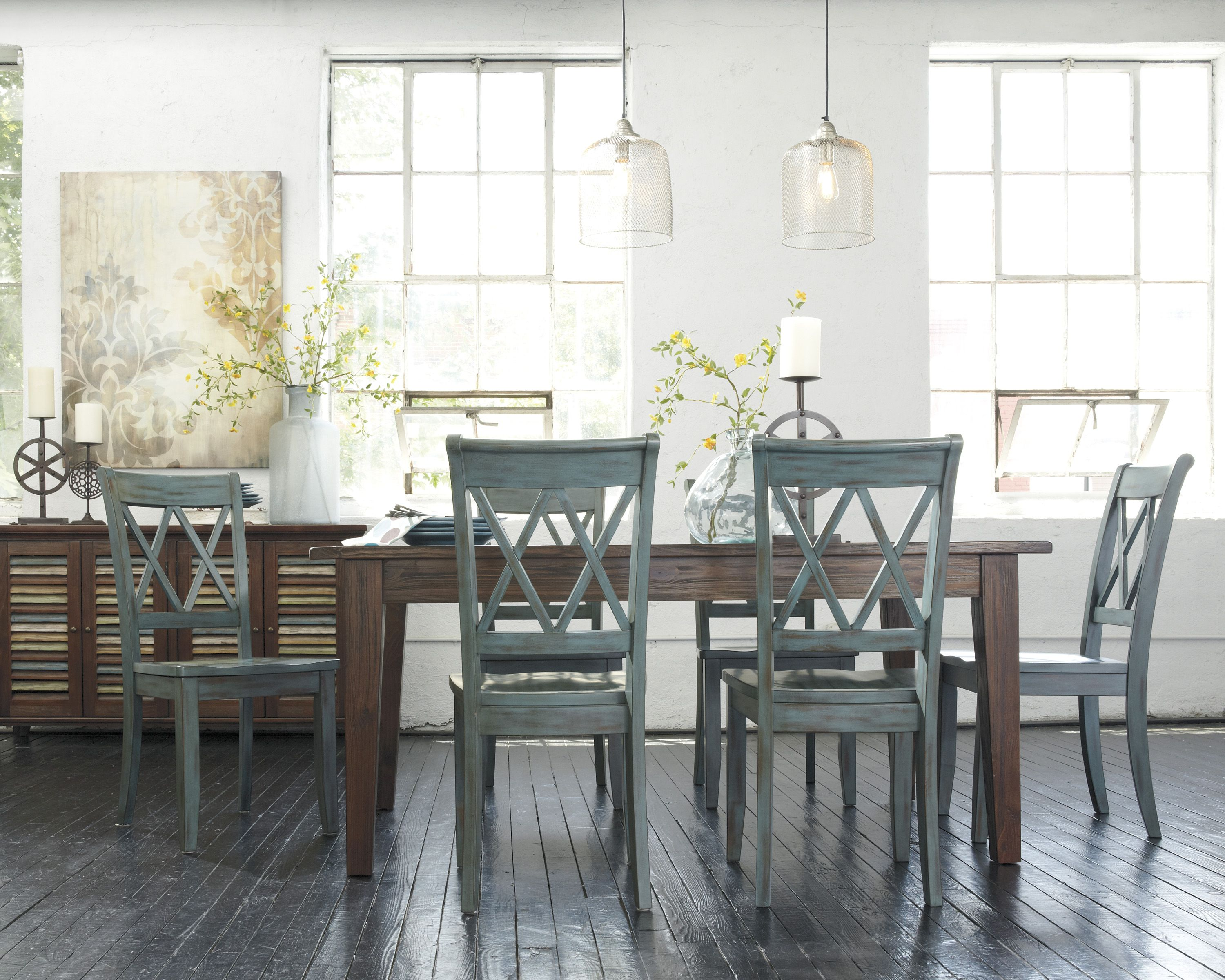 Dining Room Table Perfect Rustic Chic Home