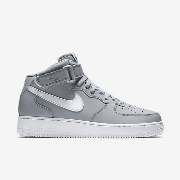 herren sneaker air force 1 mid '07 basketball shoes in weiß