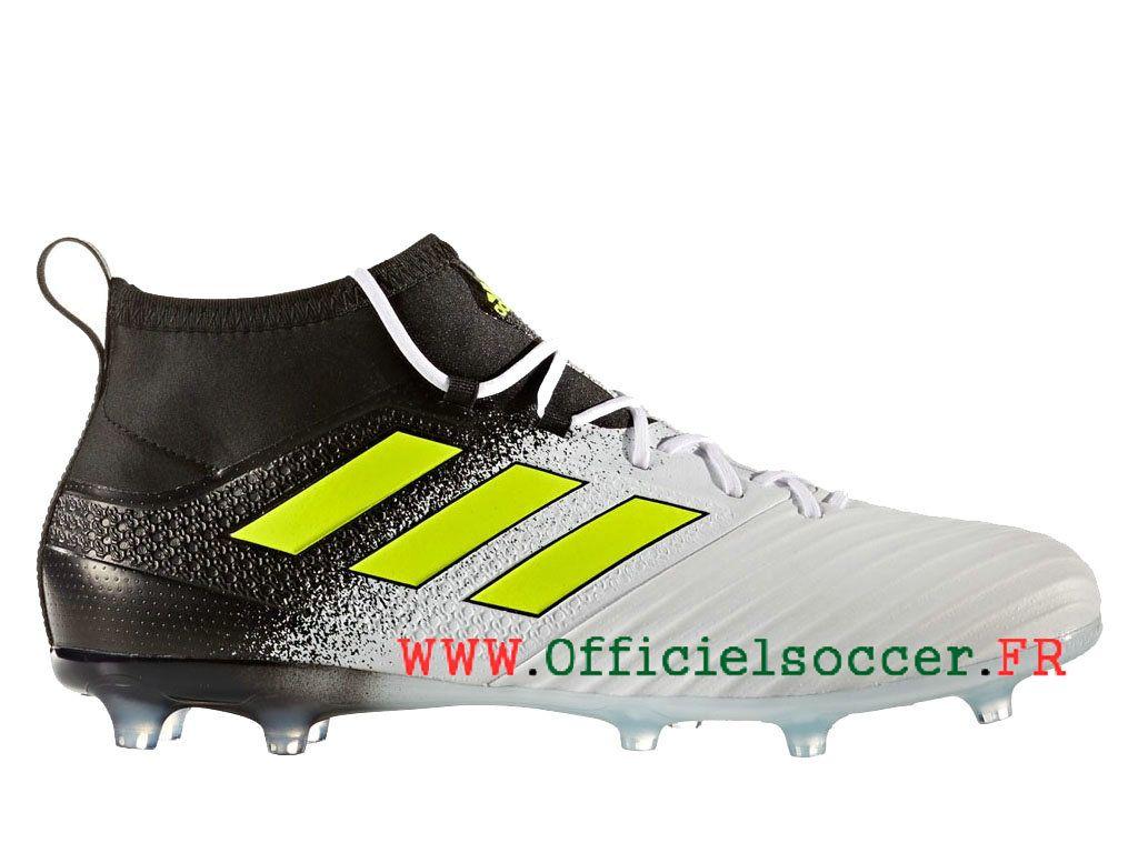 Adidas ACE 17.2 Terrain souple Crampons de Football Homme Blanc ...