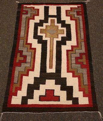 Navajo Ganado Rug Mark Sublette Gallery Santa Fe High
