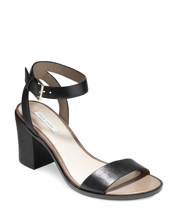 473cb620cfc2 Cole Haan Ankle Strap Sandals - Cambon City Mid Heel