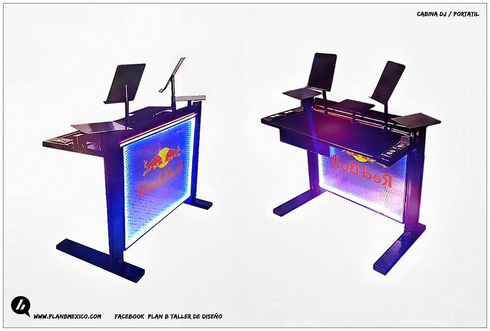 Dise o y manufactura de barras para bar moviles iluminadas - Disenos de barras de bar ...