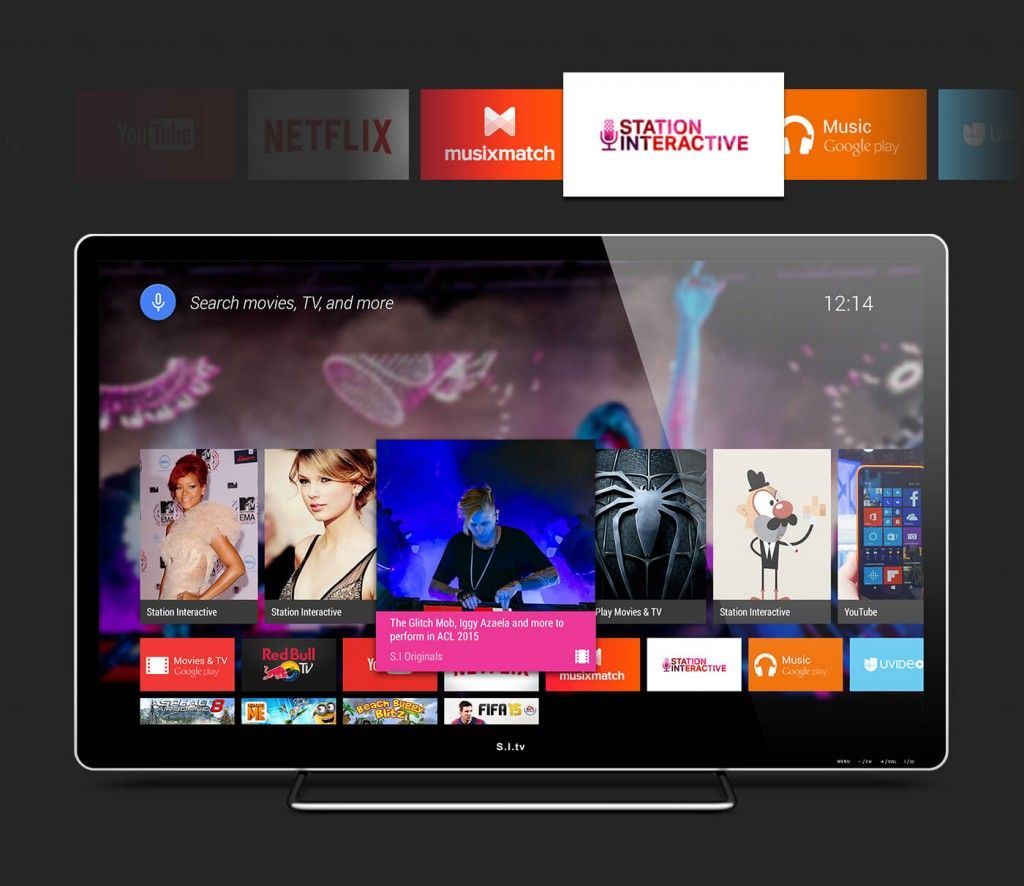AndroidTV-PSD | Yes | Ui kit, Psd templates, Material design