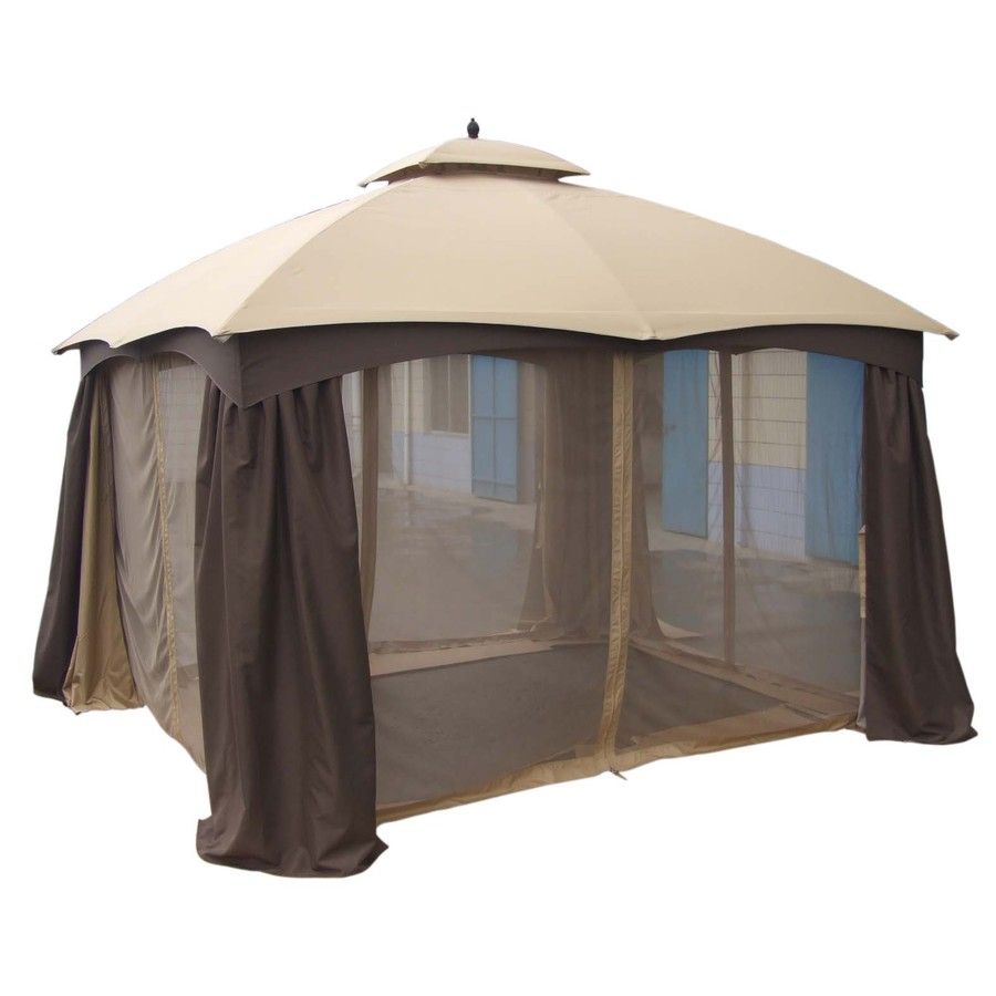 Shop Allen Roth 129 In X 155 In X 9 86 Ft Polyester Roof